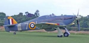 Obrázok č. 1. Hawker Hurricane